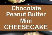 Chocolate Peanutbutter mini cheesecake