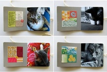 Scrapbooking - CATS / Scrapbooking layouts & mini albums about cats. :)