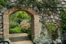 фото арка из камней