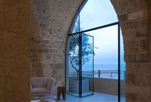 contemporary stone buildings / architecture