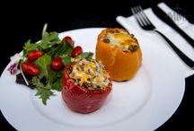 lentil stuffed bell pepper
