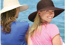 Hats - Beach Inspired / We are inspired by these beach styles with suggested hats to match.