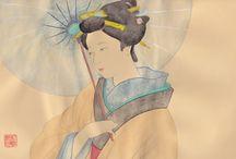 Japan art / Mie creazioni Japan Style