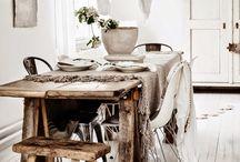 boho scandinavian kitchen