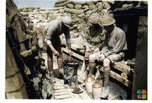 Soldat Australien / Photos colorisées de soldats Australiens durant la première guerre mondial.