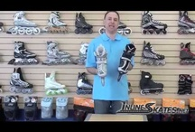 Inline Skating Videos / It's one thing to read about how to do something, but it is completely different to see how something is actually done. We feature content that will help you to choose a skate, maintain your skates make repairs and more. Other videos contain product discussions, reviews and more.