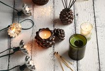 Holiday Favorites / We love the holiday scented items from Thymes!