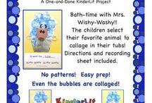 Kindergarten Mrs. Wishy-Washy...