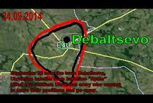 War in Ukraine The Maps of Fightings
