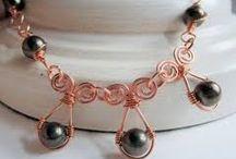 Wire Wrap-Египетские мотивы-спиральки