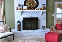 Fireplace / by Diane Hall