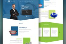 Web Design / PSD with full design for your company website UI/UX applying the responsive web design rules.