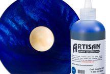 Artisan coloring dyes