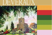 Color Palettes of Romatic Book Covers