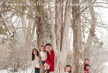 .winter outdoor family photography ideas.
