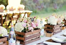 Tablescape Ideas / I love to set the table sometimes especially for special occasions or not ha! Some ideas here...some from wedding and social events that could easily be incorporated at home in your own dining room.