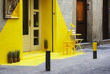 Yellow is the new Black !!! / I love yellow colour ! Like the sun .Like summer.