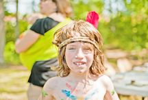 BEST BIRTHDAY PARTY EVER! / Tired of pinatas and pin the tail on the donkey? How about a party for your kids that is Native American or pioneer themed? Crafts, stories, educational, native games and more! For more information contact raven@wayoftheraven.net