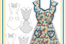Needlework: Aprons