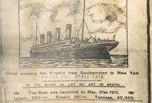 TITANIC-APRIL 10, 1912 / by Sandra Bishop Rice
