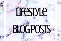 Lifestyle Blog Posts