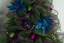 Decoraciones De Las Puertas De La Navidad
