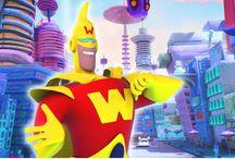 Captain Wonderful / Supereroe 3D