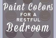 Colours: Bedrooms