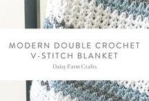 dc v stitch blanket