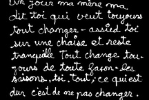 Pour l'amour de francais / A part of me I never use anymore and a place I'll probably never see. / by Robin Bobo