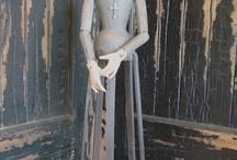 Mannequin cage dolls