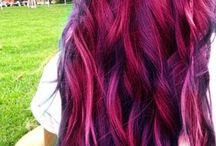 When I am old my hair shall be purple...