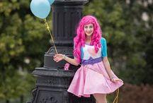 Alternativas de roupa de Pinkie