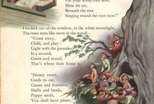 Vintage children poems
