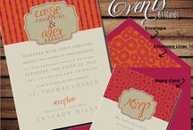 Wedding invites from I.candy / by Katie Childs