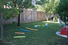 Sam's obstacle course
