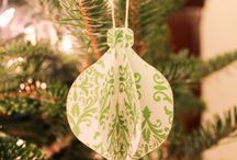 10+easy / paper Christmas decoration / 10 easy and amazing paper Christmas decorations