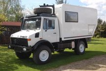 Unimog Camper U1300 '86 / Unimog Camper u1300 1986 Franek