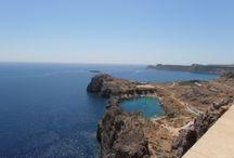 Řecko Rhodos Pláže / Pláže na ostrově Rhodos