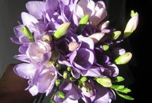 Purple inspired wedding bouquets / Beautiful bouquets from Gorgeous KWA Finalists 2012/2013