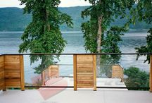 Decks with Views / Use these photos of decks with views over looking lakes, oceans and vistas to stir your imagination.