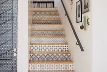 Staircase ideas / Staircase decorating