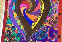 COLORIST WORK CREATED BY HONI / Love discovering zen and other art by various Artists that share or sell their work to be Colored ..ALL WORK COLORED BY HONI..