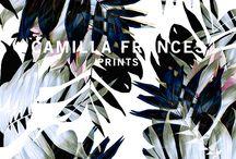 Prints inspiration - teals