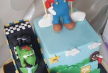 Super Mario Kart cake / Made this cake for 10 year old kid. Creator Saffron Cakes.