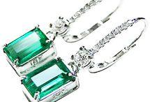 Emerald Earrings