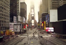New York / New York without people, New York vidé