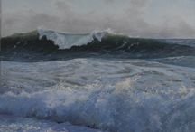 Seascape, Tom Simonsen / Seascape paintings
