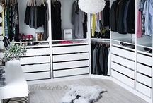 Garderobe room