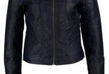 Jackets / Blue leather